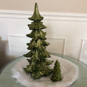 Pair of decorative Christmas Trees